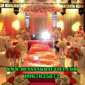 đèn led đám cưới