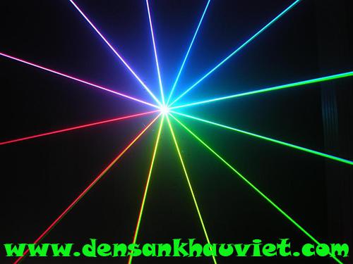 đèn laser 1 của 7 màu