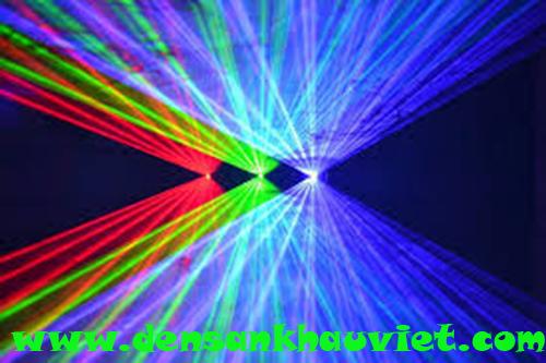 đèn laser 3 cửa 3 màu