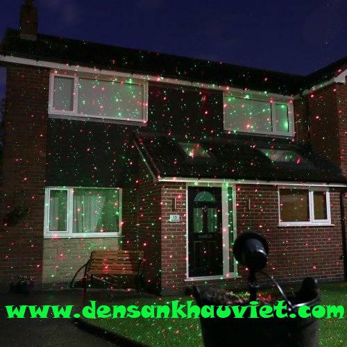 đèn laser trang trí sân vườn