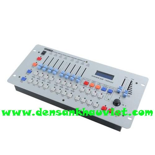 bàn điều khiển ánh sáng disco 240