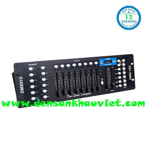 bàn điều khiển ánh sáng dmx 512