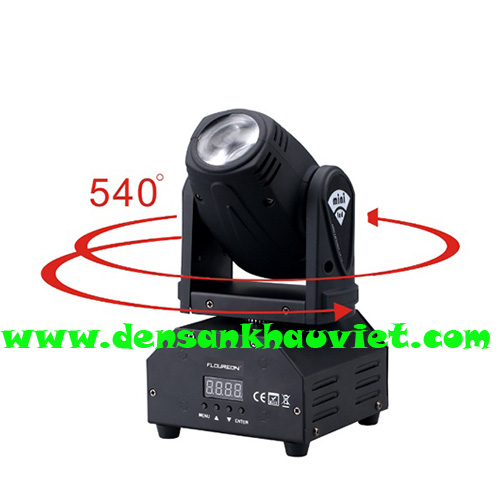đèn moving led 10w