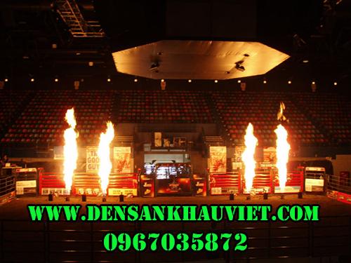 máy tạo lửa sân khấu