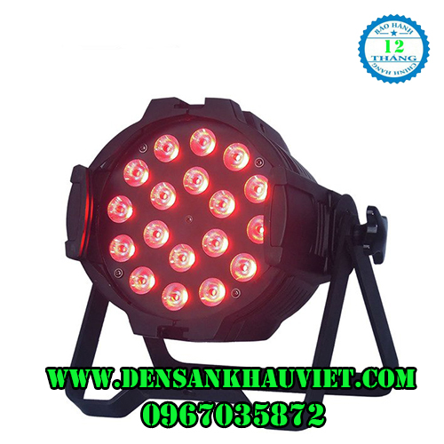 đèn par led 18x10w 4 in 1 rgbw